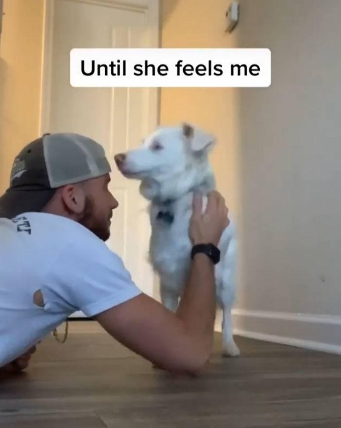 until she feels me