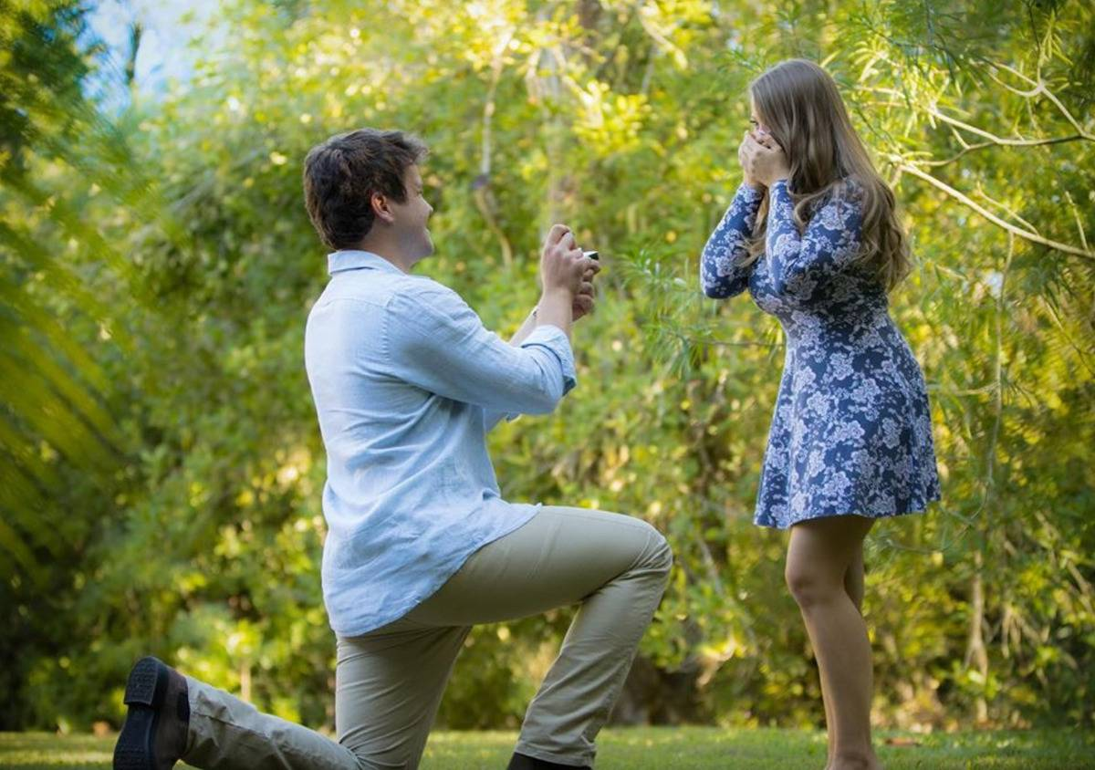 The Proposal Was Very Romantic