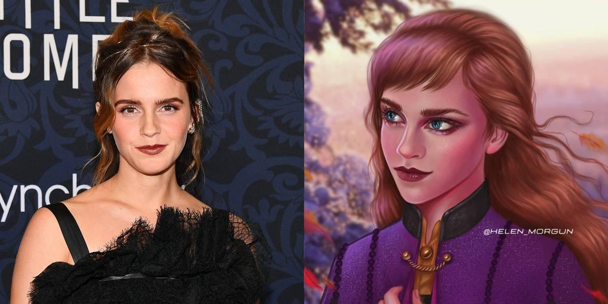 Emma Watson As Anna