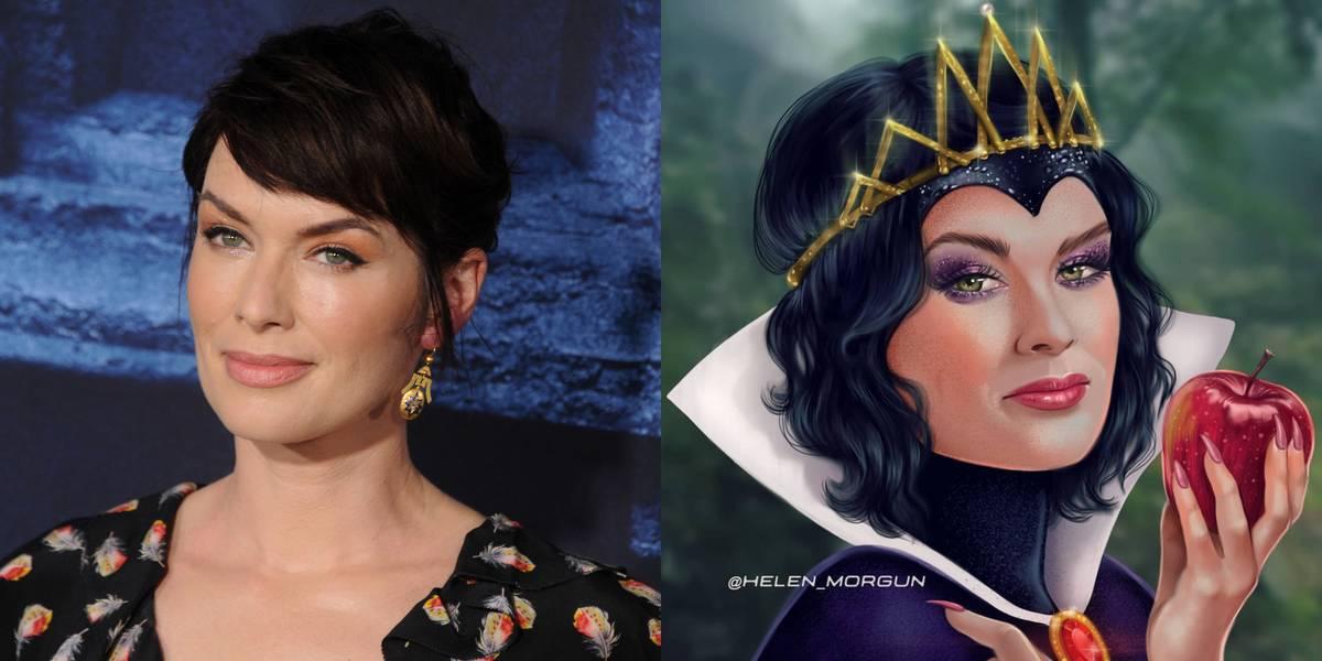 Lena Headey As The Evil Queen