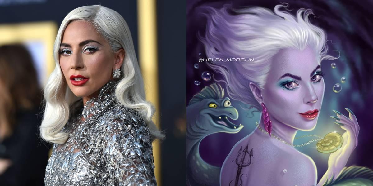 Lady Gaga As Ursula