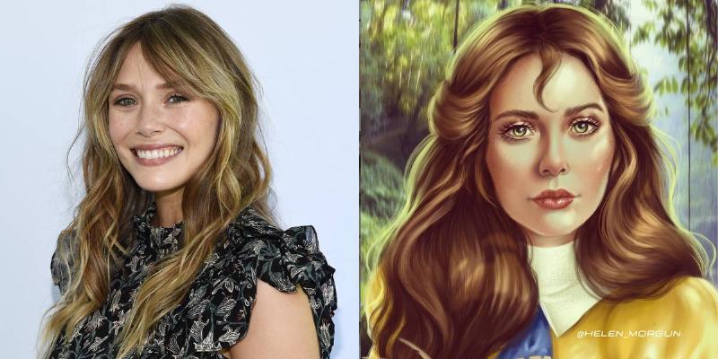 Elizabeth Olsen As Jane