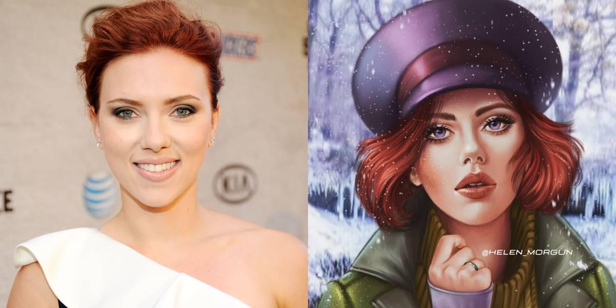 Scarlett Johansson As Anastasia
