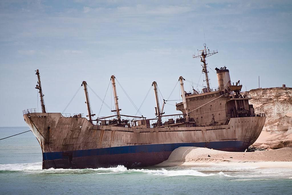 a pretty shipwreck