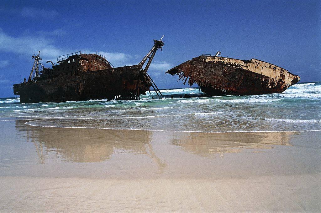 cabo santa maria ship wreck