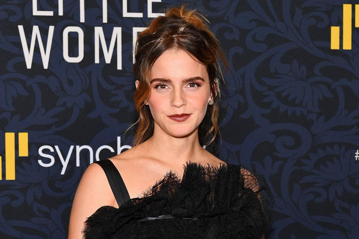 Emma Watson Studied On The Set Of Harry Potter