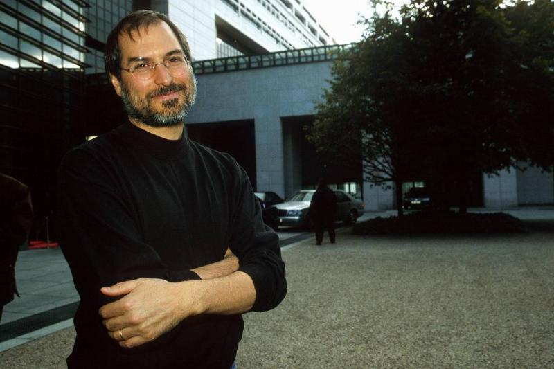 Steve Jobs, Apple P.D.G Imac This In Paris On September 17Th, 1998 In Paris,France