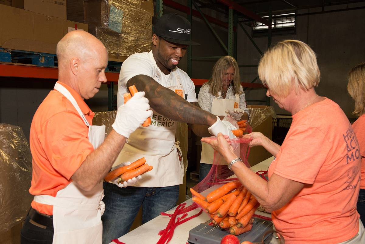 Feeding America Kicks Off Hunger Action Month At The Second Harvest Food Bank Of Middle Tennessee