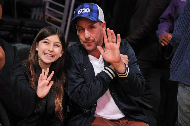 Adam Sandler Likes Wearing Shorts To His Kids School Events