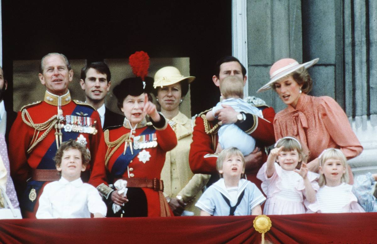 GBR: The Royal Family attend the Trooping of the Colour ceremony