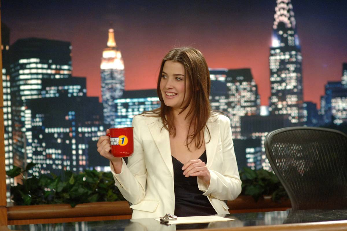 Cobie Smulders Was Pregnant Onscreen Twice