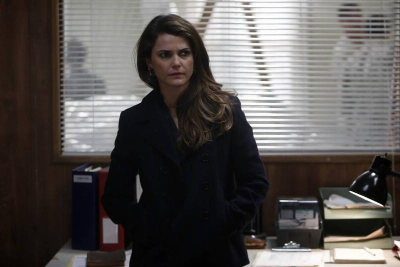 Keri Russell Got Comfy In Coasts During The Americans