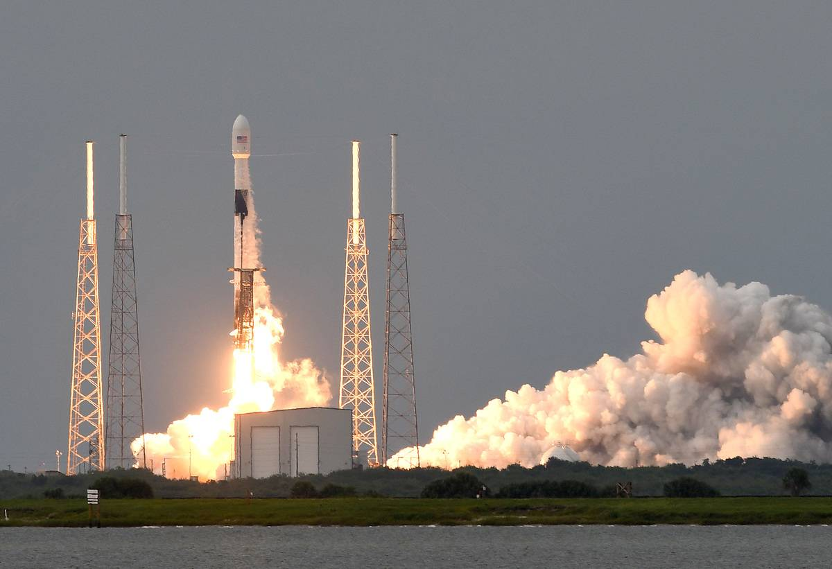 SpaceX Falcon 9 Rocket Launch In May