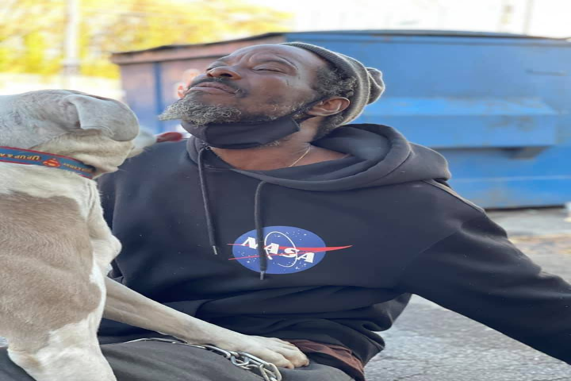 Keith Walker Is A Homeless Man From Atlanta, Georgia