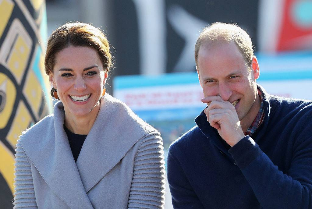 prince william and kate laughing in canada in 2016