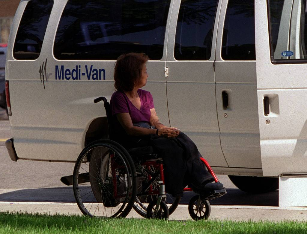 Picture of a medical van