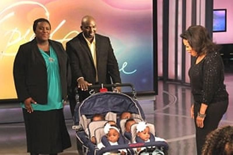oprah winfrey meeting the mcghee family on her show