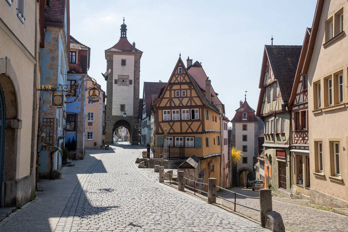 Coronavirus - Rothenburg ob der Tauber