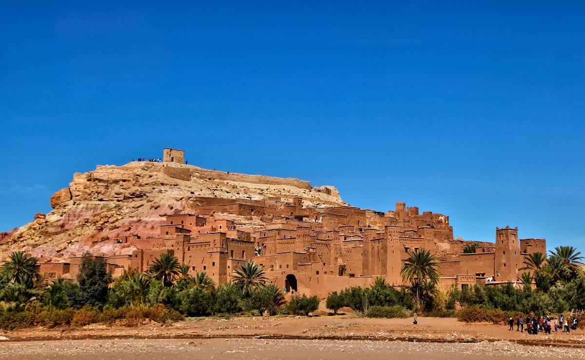 Historic Village In Morocco
