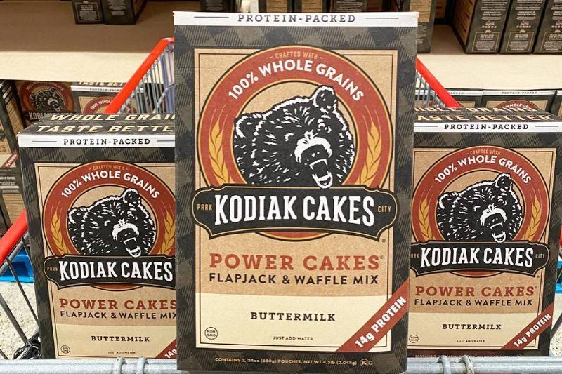 kodiak cakes power cakes flapjack & waffle mix at Costco