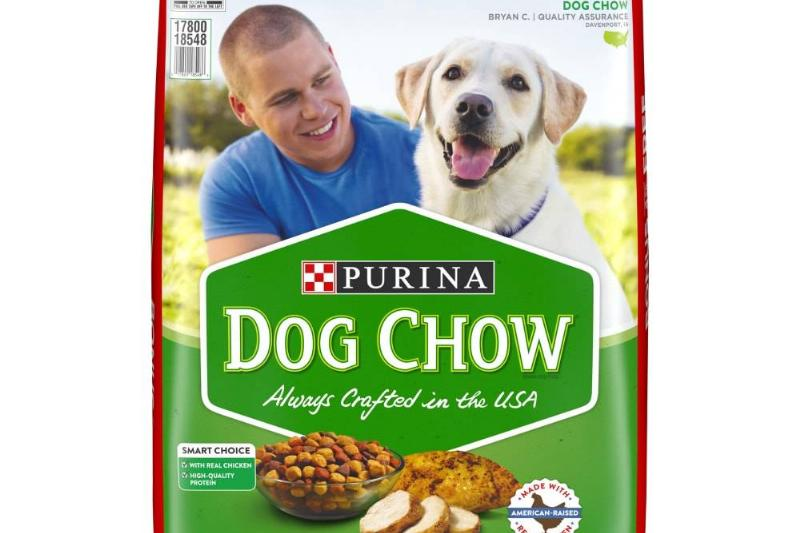 purina dog chow complete adult with real chicken dog food bag