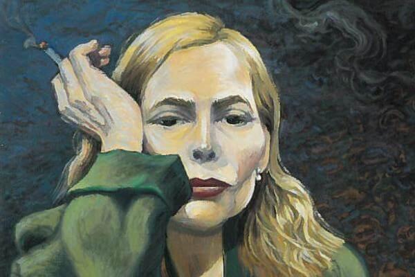Joni Mitchell Creates Her Own Album Artwork