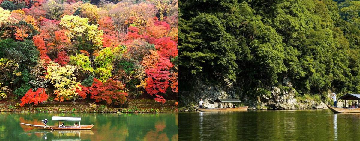The Hozu River, Japan