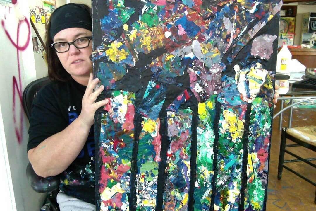 For Rosie, Paint Is Political