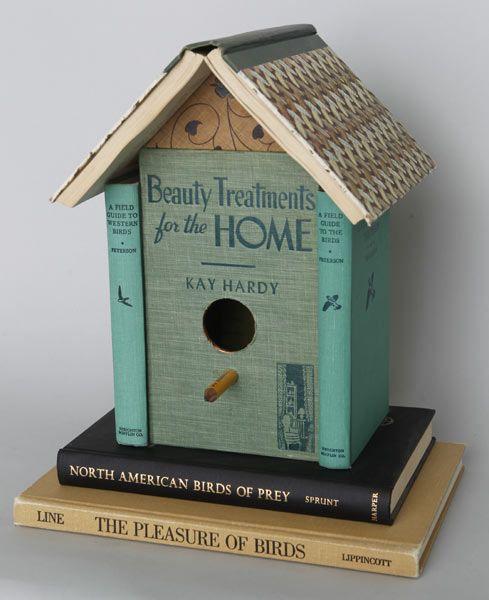Book Birdhouse