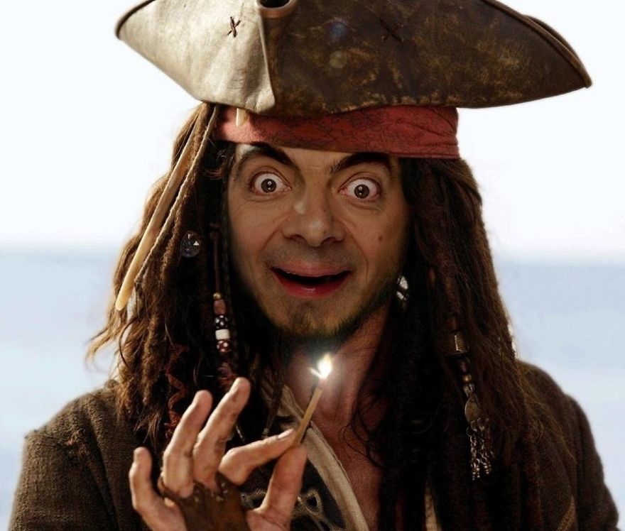 2. Pirates of the Mr. Bean.
