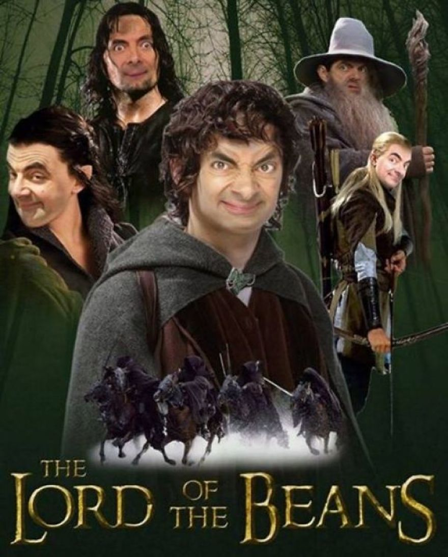 3. Lord of the Mr. Beans.