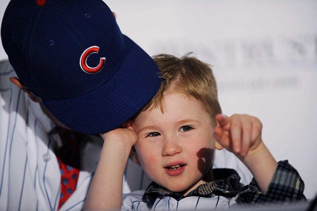 Jon Lester's Son Is Adorable