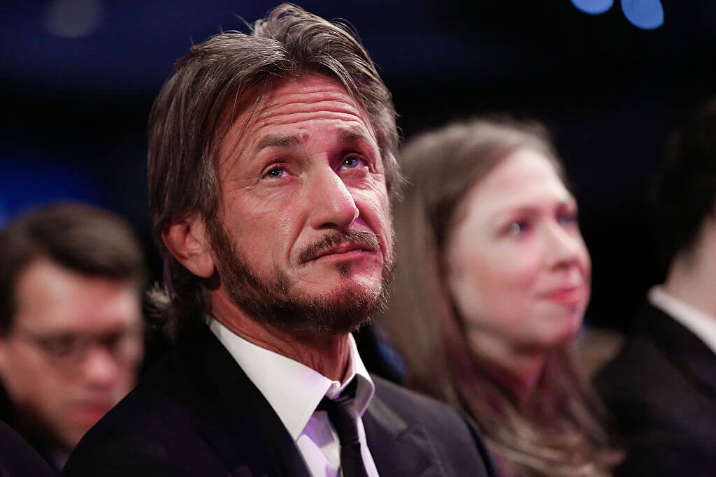 Sean Penn Put Out An Ad Against The Bush Administration
