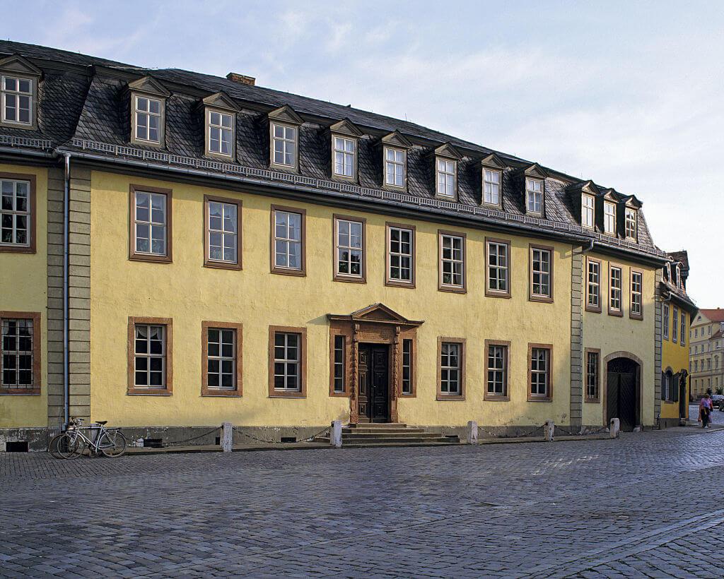 See Johann Wolfgang Von Goethe's Writing Desk At His Home In Frankfurt, Germany