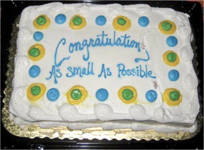 A Great Cake Fail