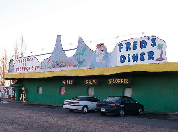A Real Life Flintstones Town