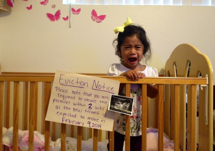 Another Crib Eviction notice for older sibling