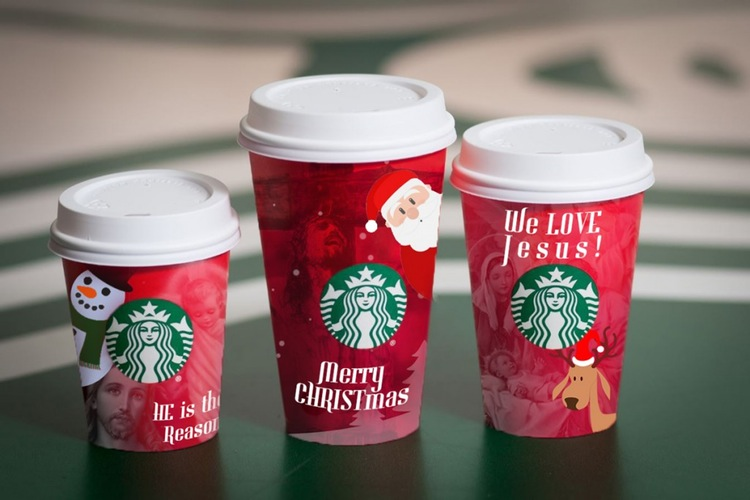 Awesome Holiday Cups from Starbucks - Meme