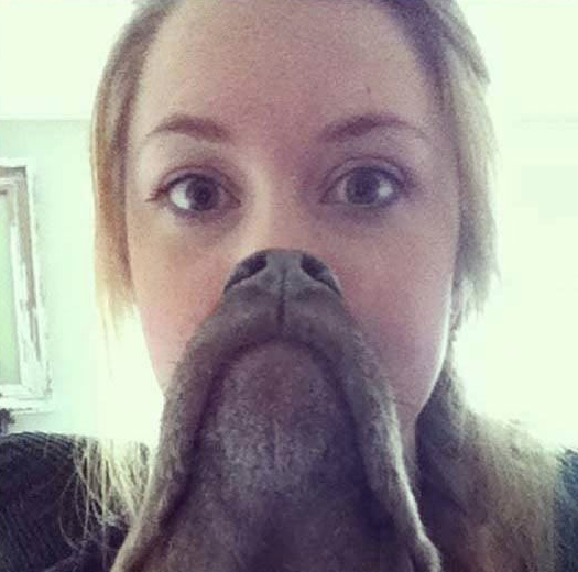 Awesome Human Dog Face