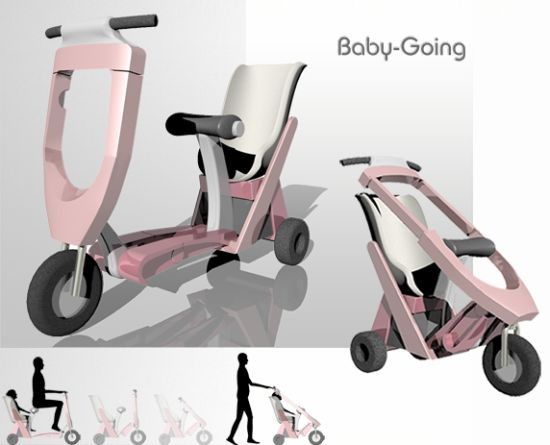4 babygoing motorized scooter baby stroller5 marc jacobs stroller for bugaboo6 onewheeled stroller7 scooter stroller8 ugo safety brakes