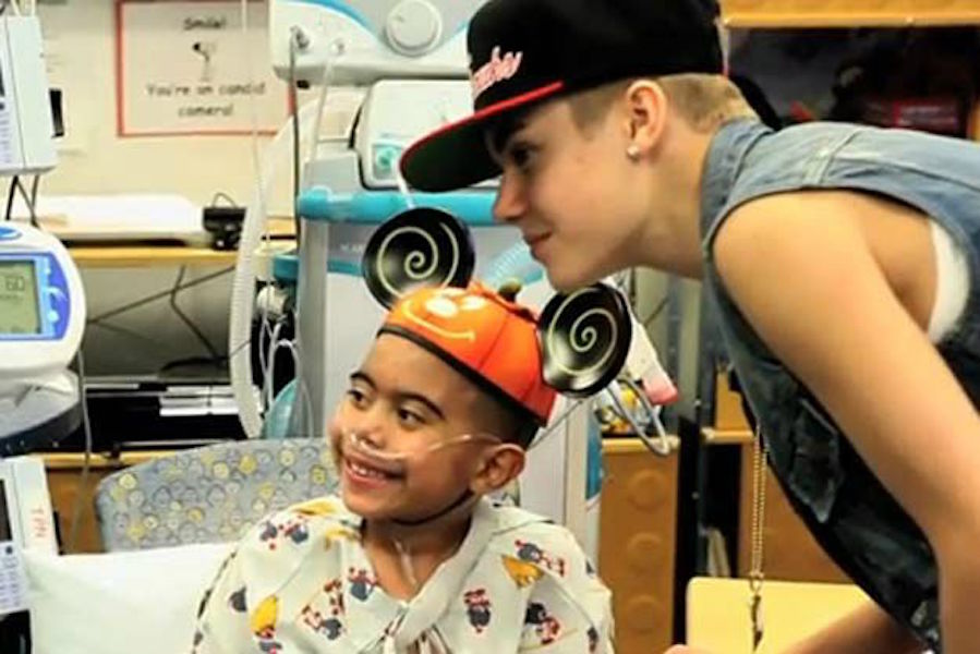 The Beibs Brightens Lives
