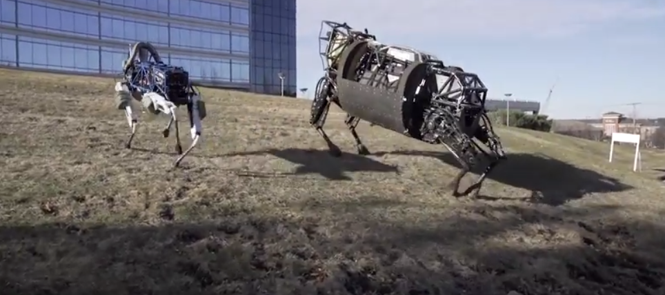 Boston Dynamics Builds Spot