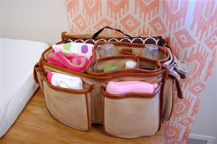 Camera Bag For Diaper Holding