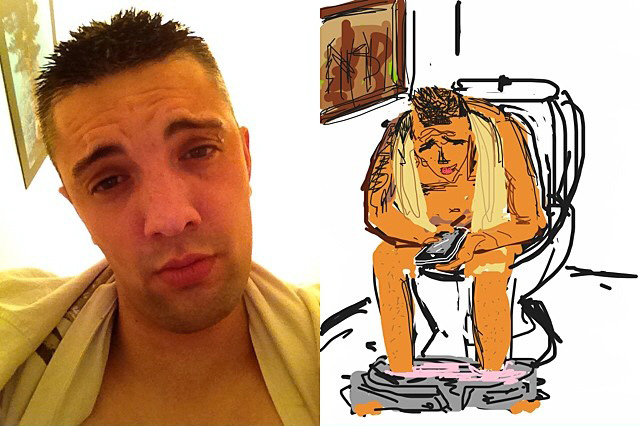 Cartoon Selfie Creation