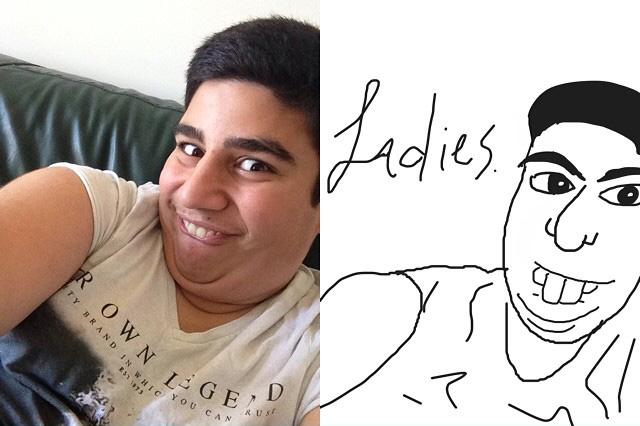 Cartoon Selfies