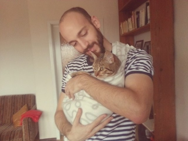 A Cat Reunited With A Syrian Refugee