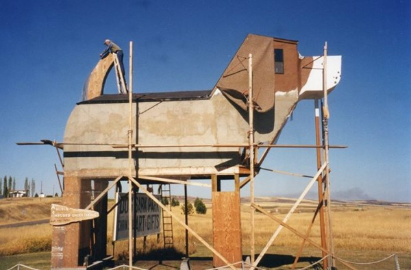 Dog Themes Bed and Breakfast under construction in Idaho