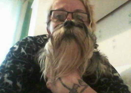 Dogs Worn As Beards