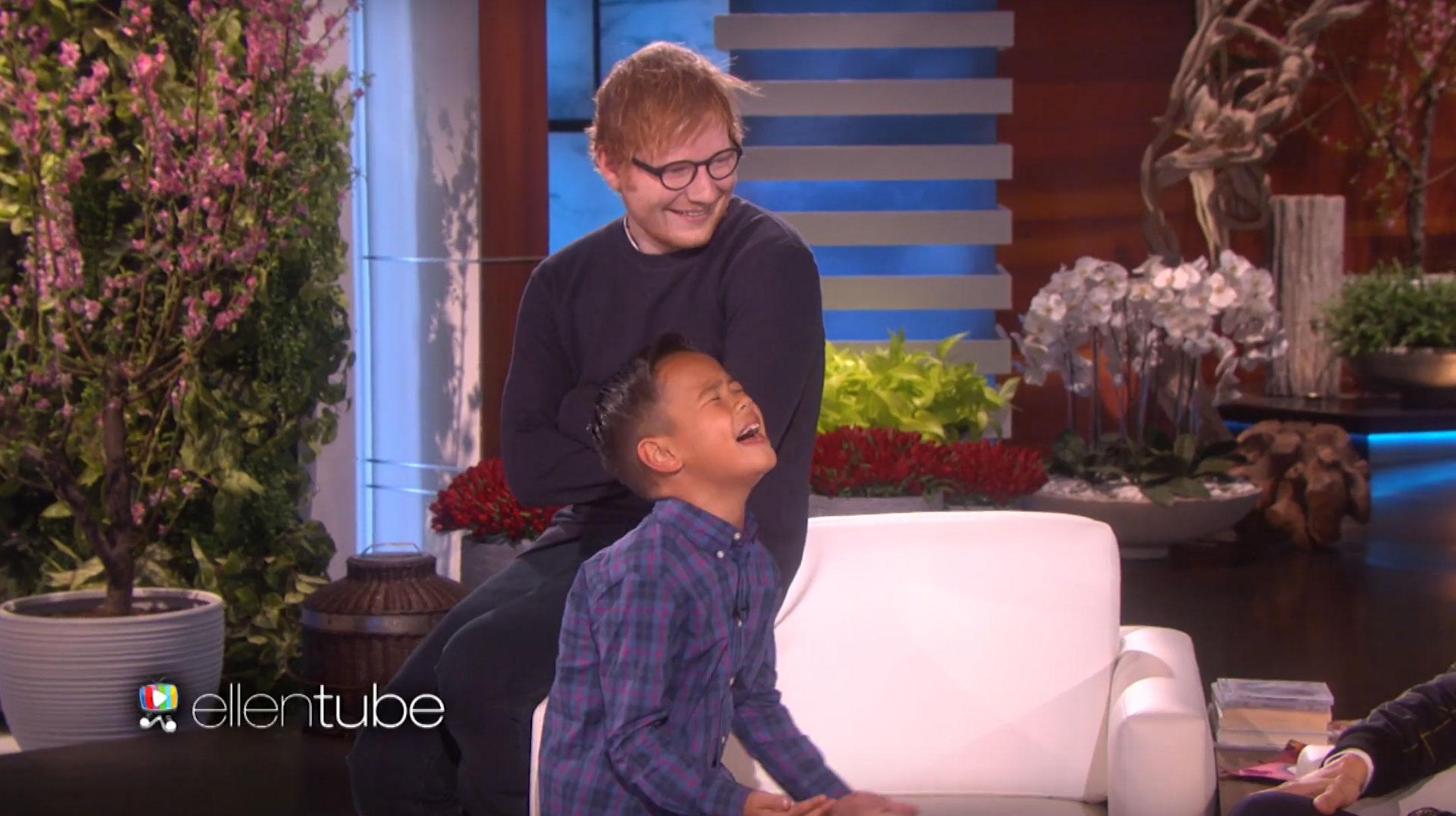 Ed Sheeran Surprise