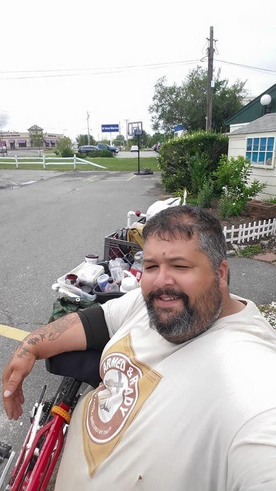Fat Guy On A Bike